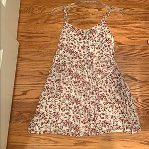 forever 21 spaghetti strap floral top